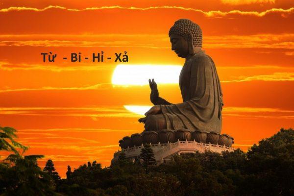 Từ - Bi - Hỉ - Xả là những lời Phật dạy về tình yêu