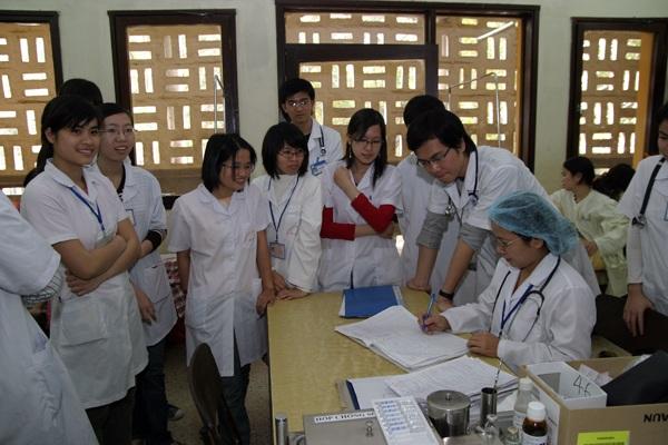 Sinh Viên trường Y- Được ĐH Thái Nguyên